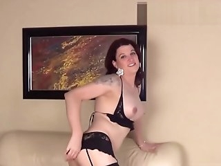 HD - Mature Shemale Playing With Her Tiny Cock On Webcam