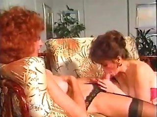 Vintage Tranny In Group Sex